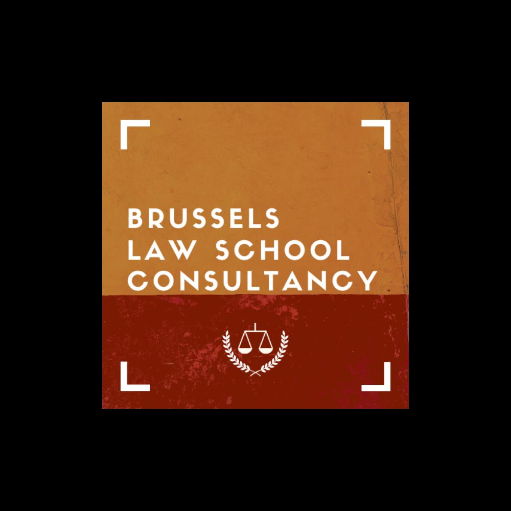 Logo of the VUB Junior Enterprise Brussels Law School Consultancy